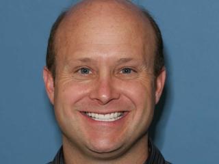 Greg after dental implants at Montgomery Dental Care
